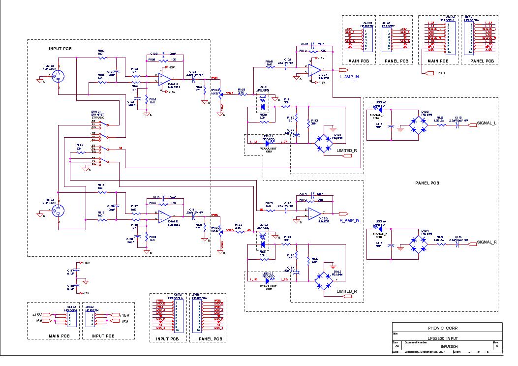 crown lps2500 sch service manual download schematics eeprom rh elektrotanya com schematics crown 2400 crown itech schematics