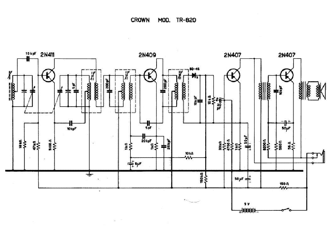 crown xls1000 power amplifier schematics