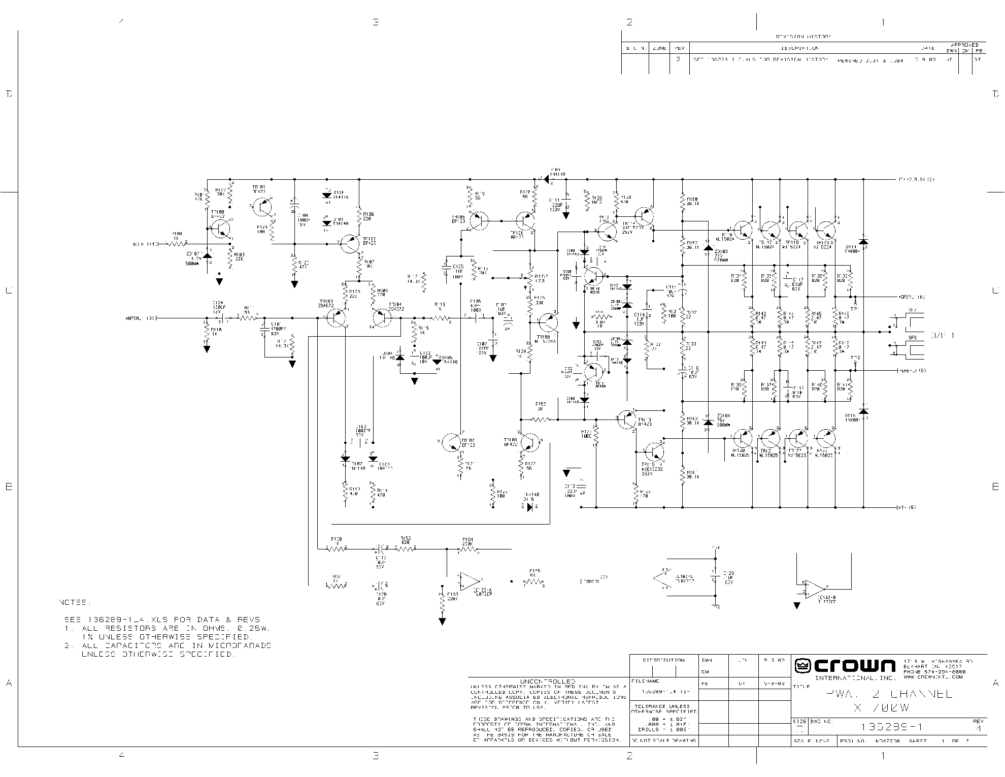 Crown Amp Manual 1999 Daewoo Korando Power Distribution Fuse Box Diagram Array Xs 700 2003 Sch Service Download Schematics Rh Elektrotanya Com