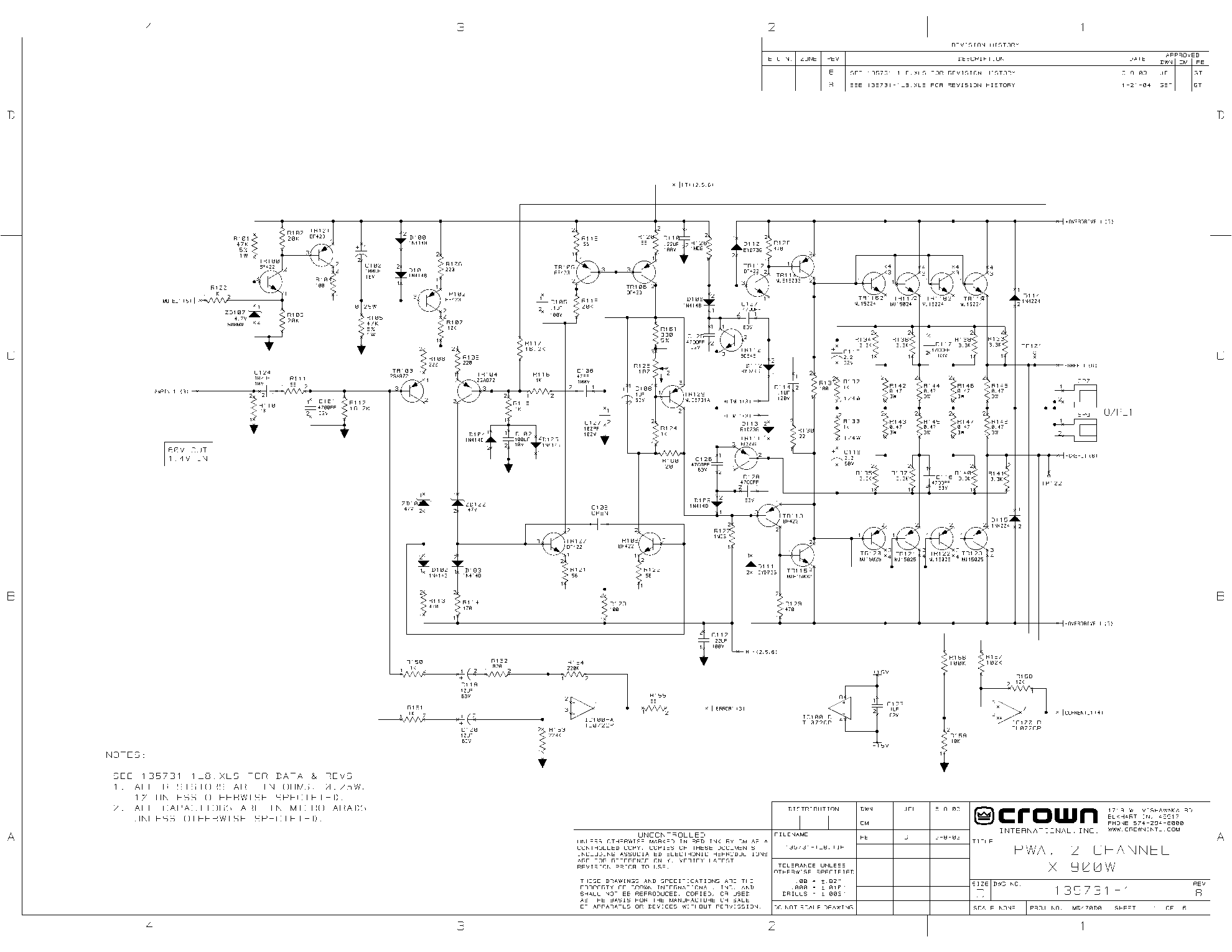 crown schematics wiring library 95 LT1 Wiring -Diagram crown xs900 sch service manual 1st page