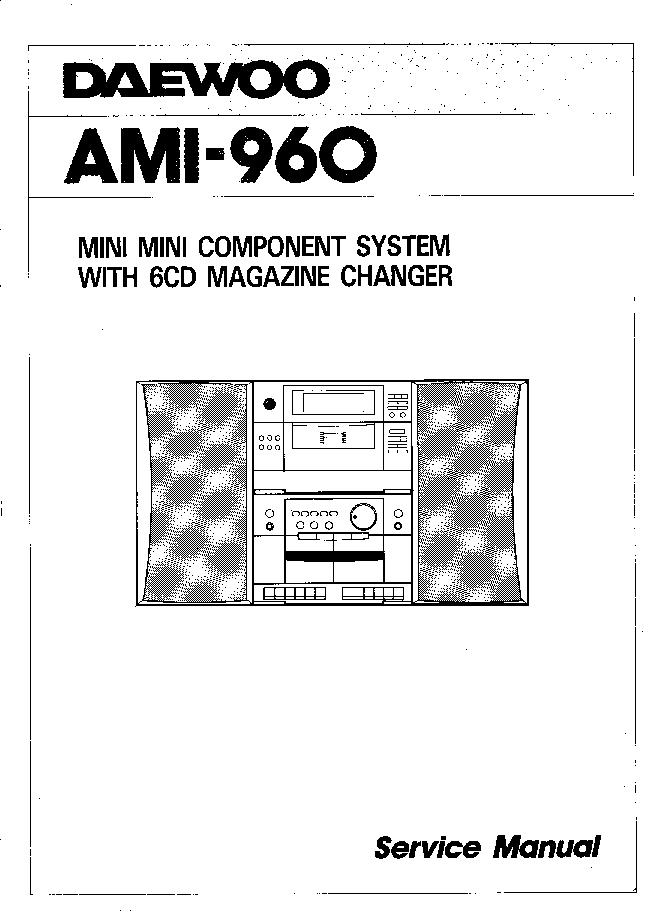 Схема daewoo acd-7310