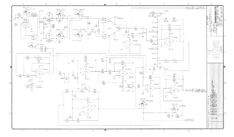 Dbx 1086 Sch Service Manual Download  Schematics  Eeprom
