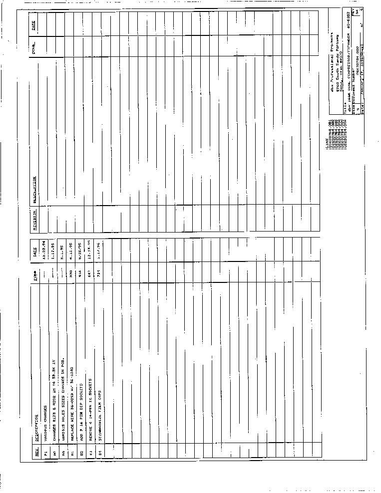 Dbx Schematic on