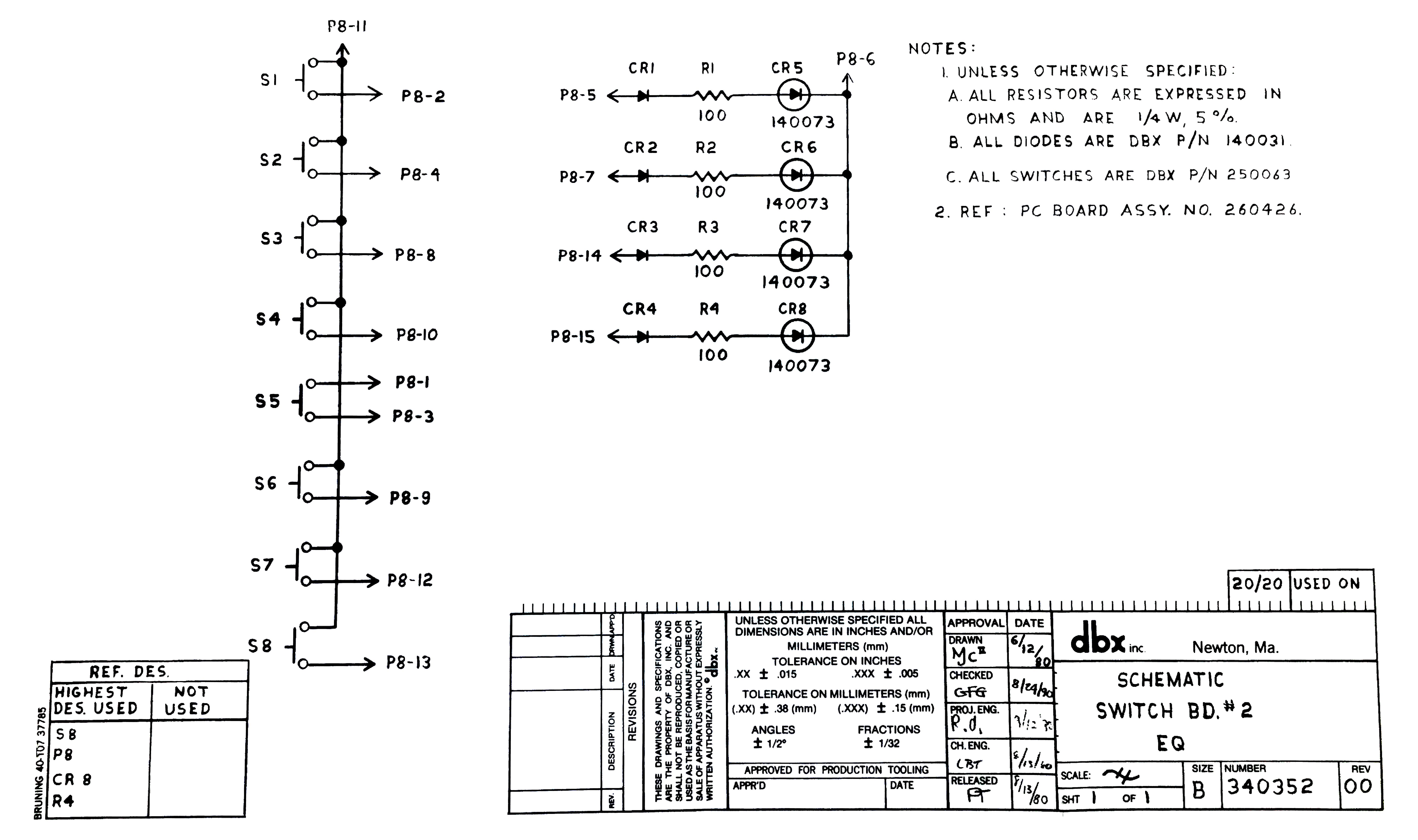 Dbx 20