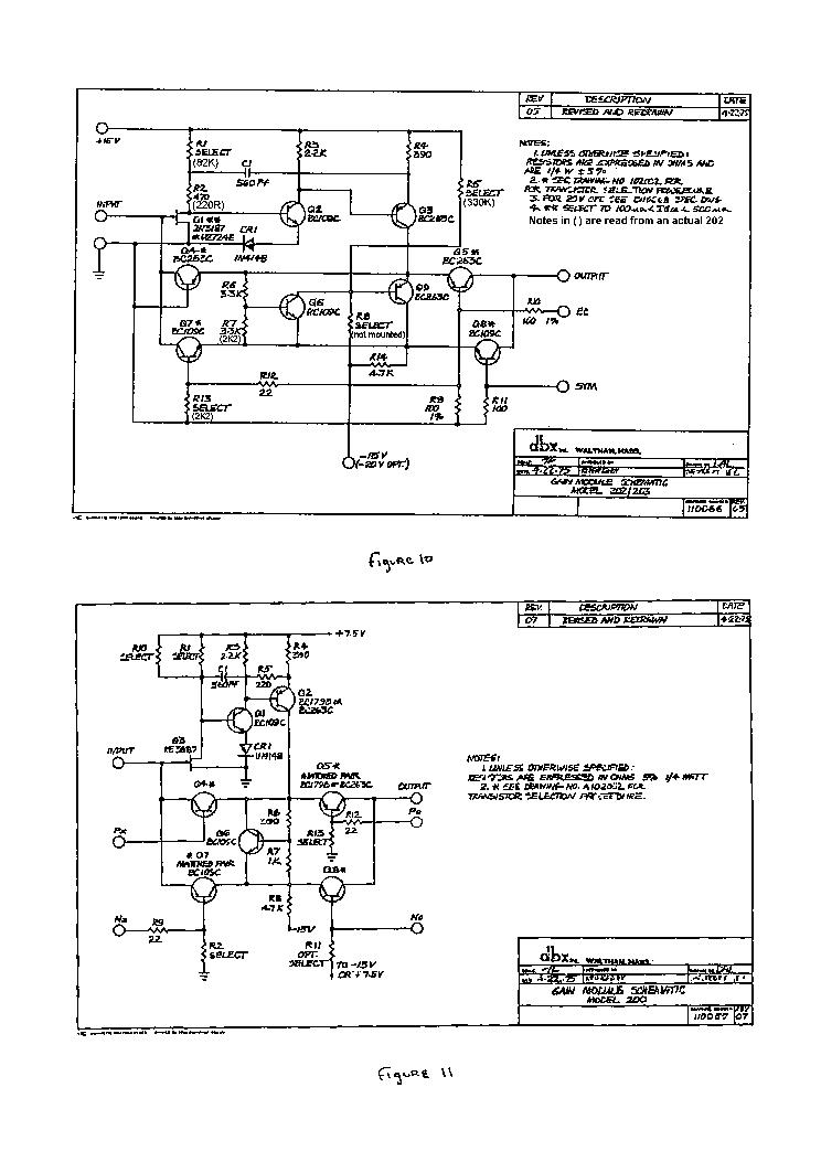 Dbx 202 Sch Service Manual Download  Schematics  Eeprom