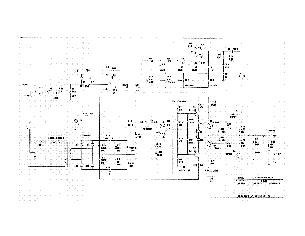 DEAN MARKLEY DMC-80 SCH Service Manual download, schematics ...