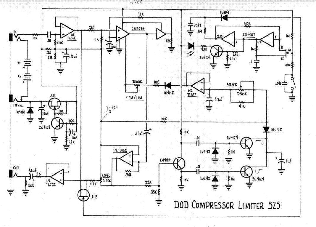dod 525 compressor
