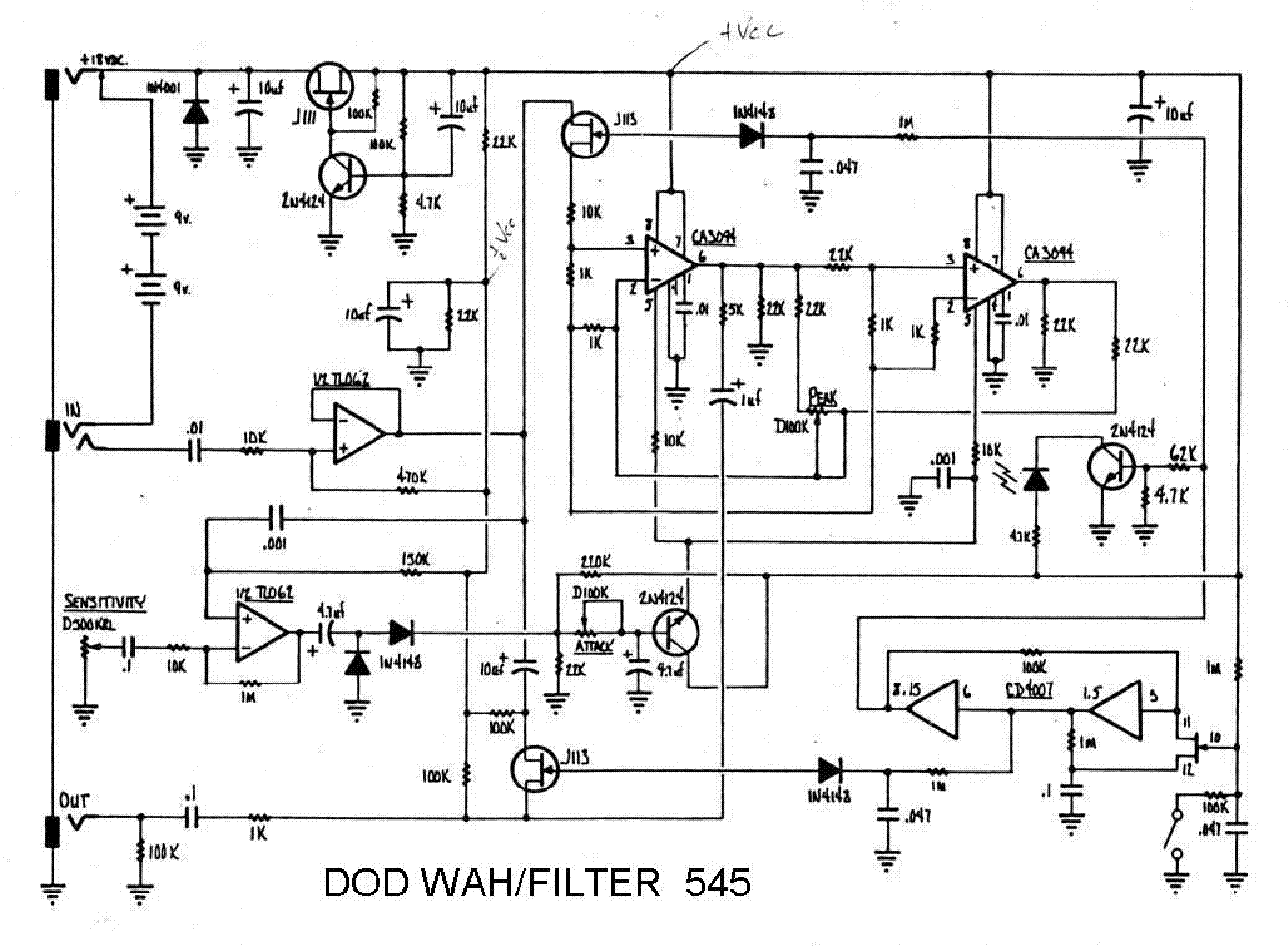 Dod Fx 53 Wiring Diagram Electrical 250 Classic Tube Sch Service Manual Download Schematics Dan Armstrong