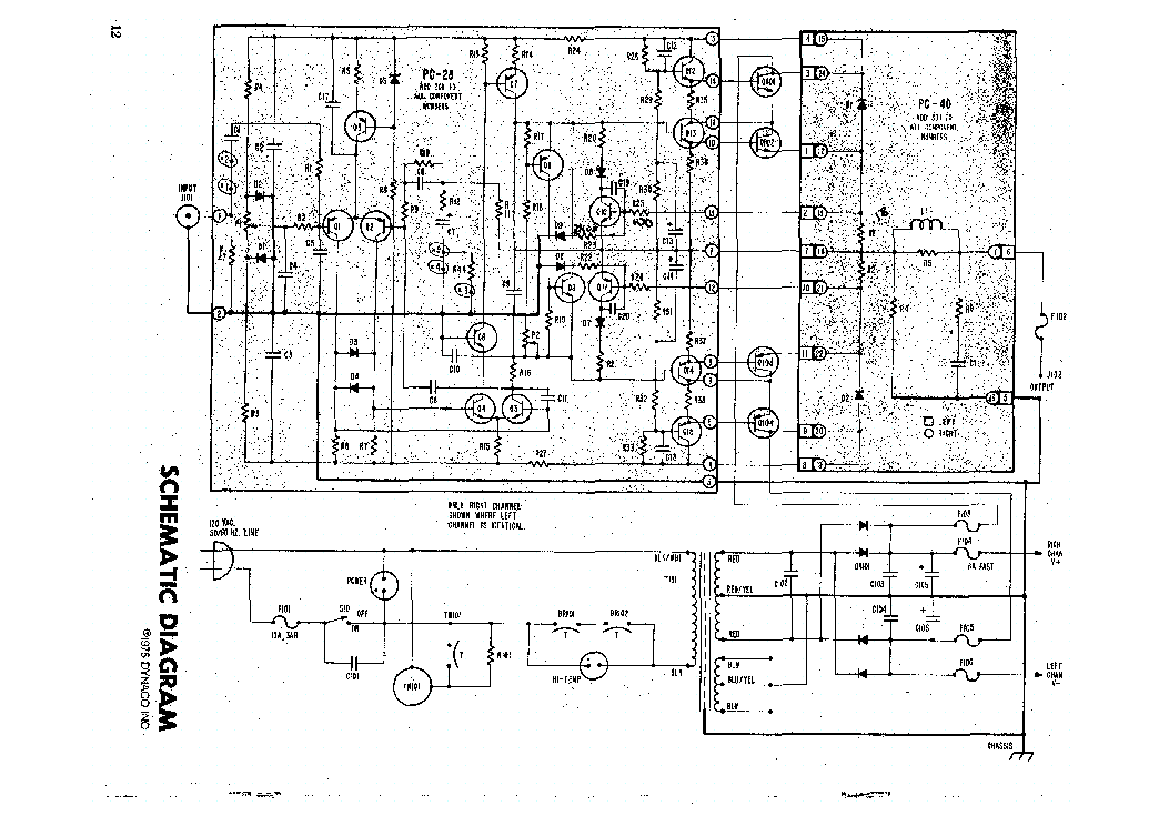 Dynaco Pat5 Sch Service Manual Free Download  Schematics