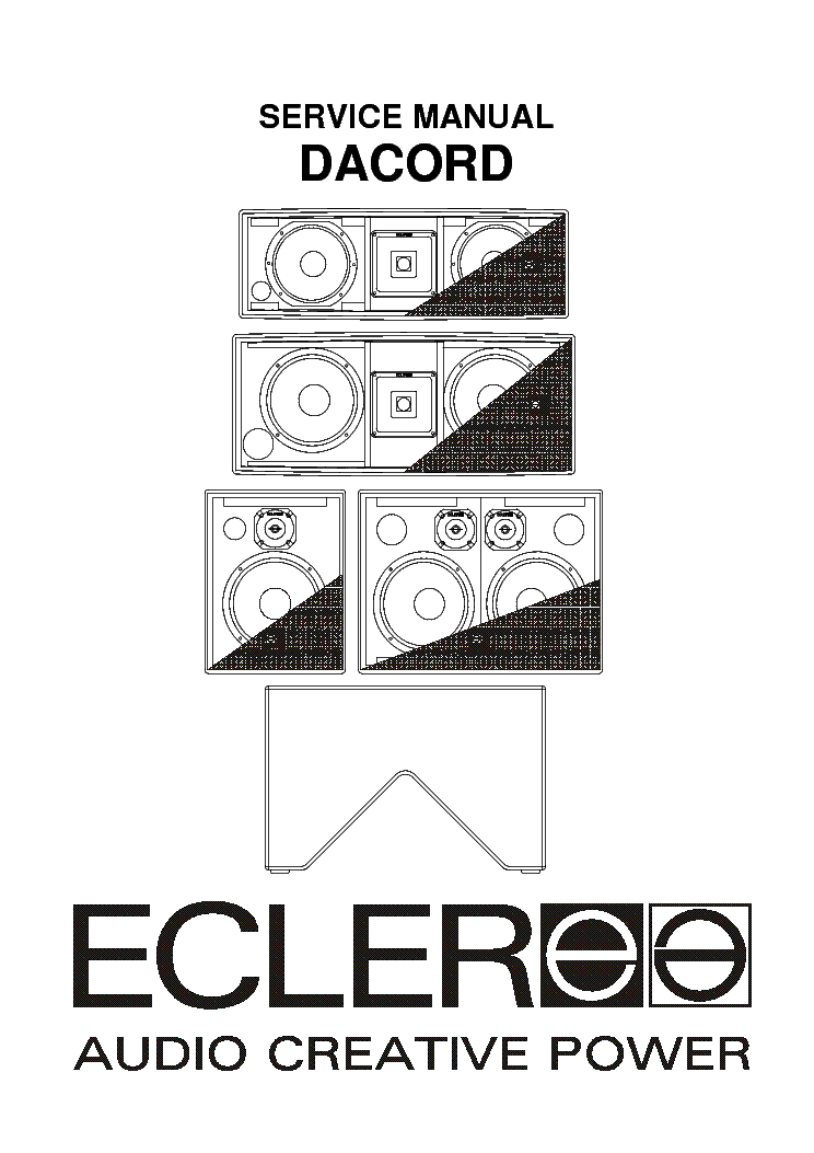 ecler pam4100 pam6100 sm service manual download