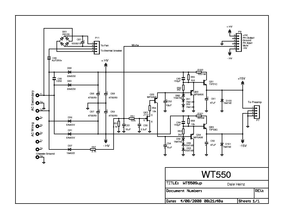 eden wt550 power supply sch service manual download