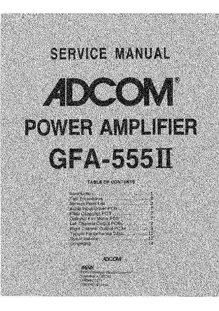 adcom gfa 565 sm service manual download schematics eeprom repair rh elektrotanya com  adcom gfp 565 service manual