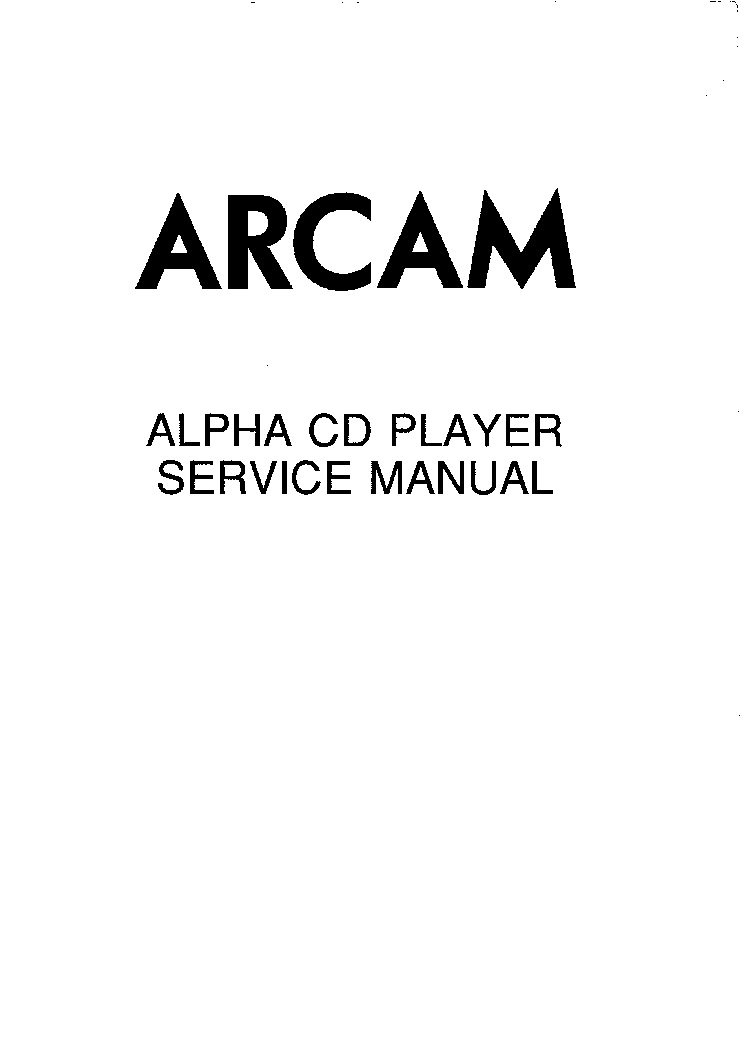 Arcam alpha 7 8 9 cd sm service manual download, schematics.