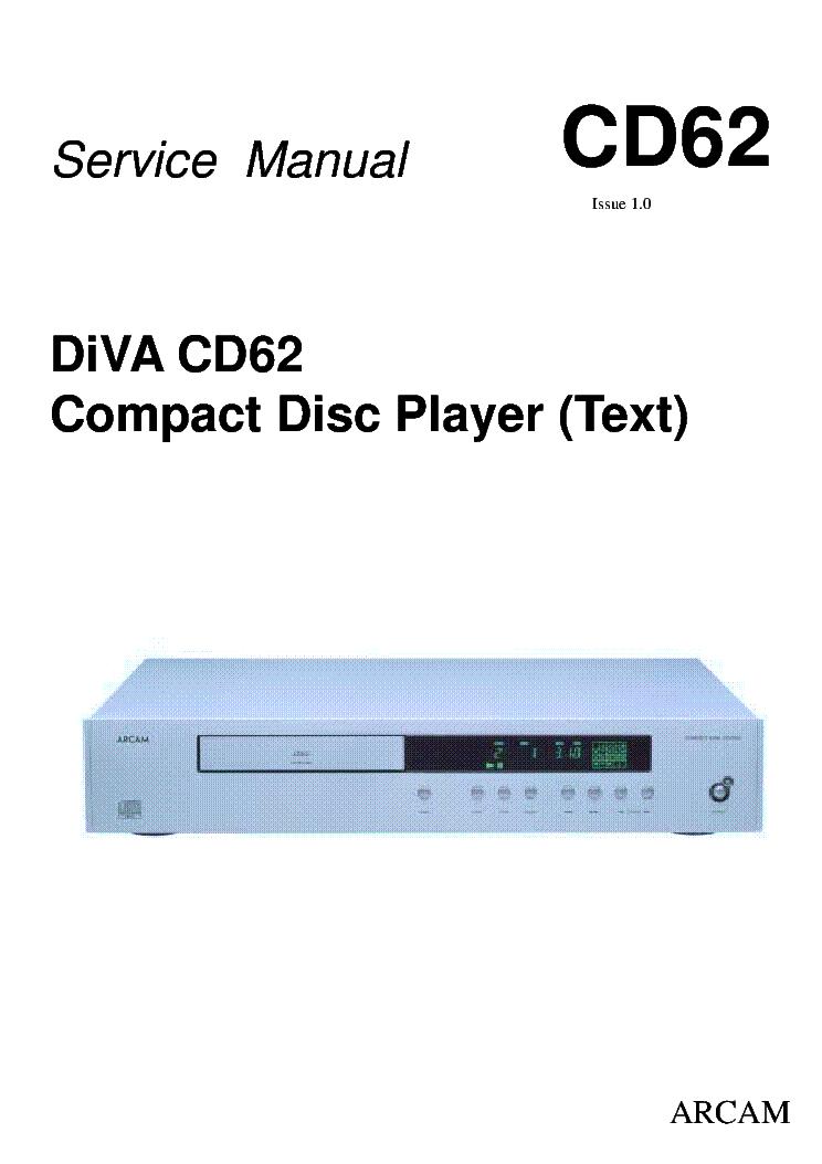 arcam diva cd62 service manual download schematics eeprom repair rh elektrotanya com