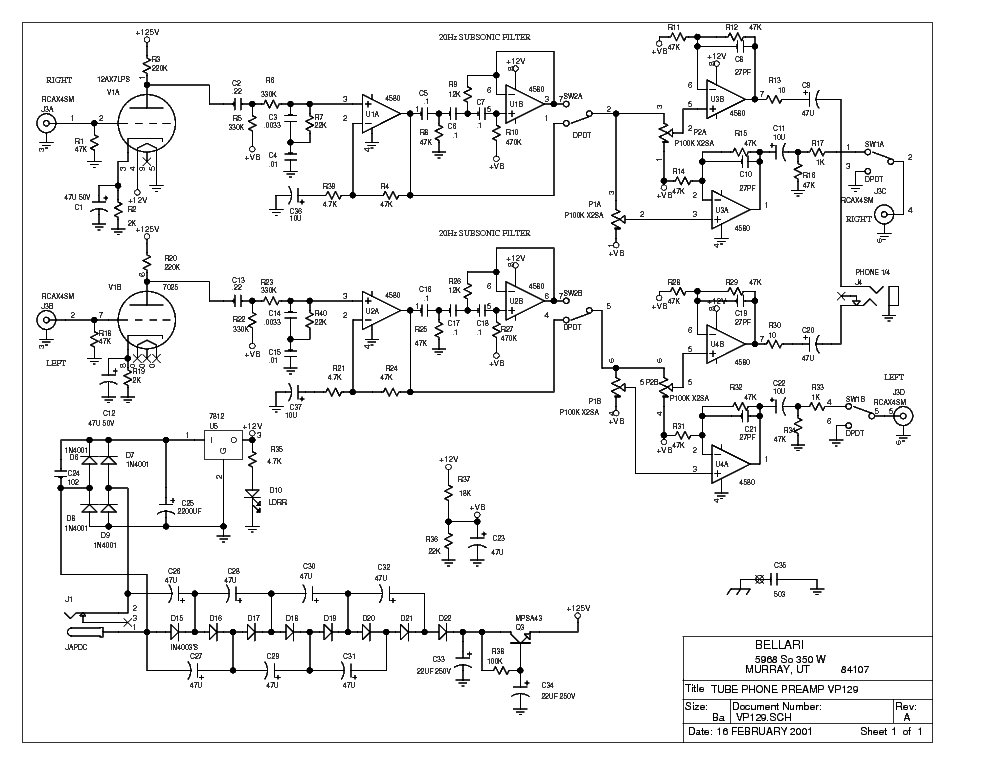 A Phono Preamplifier Is Not A Fm Receiver