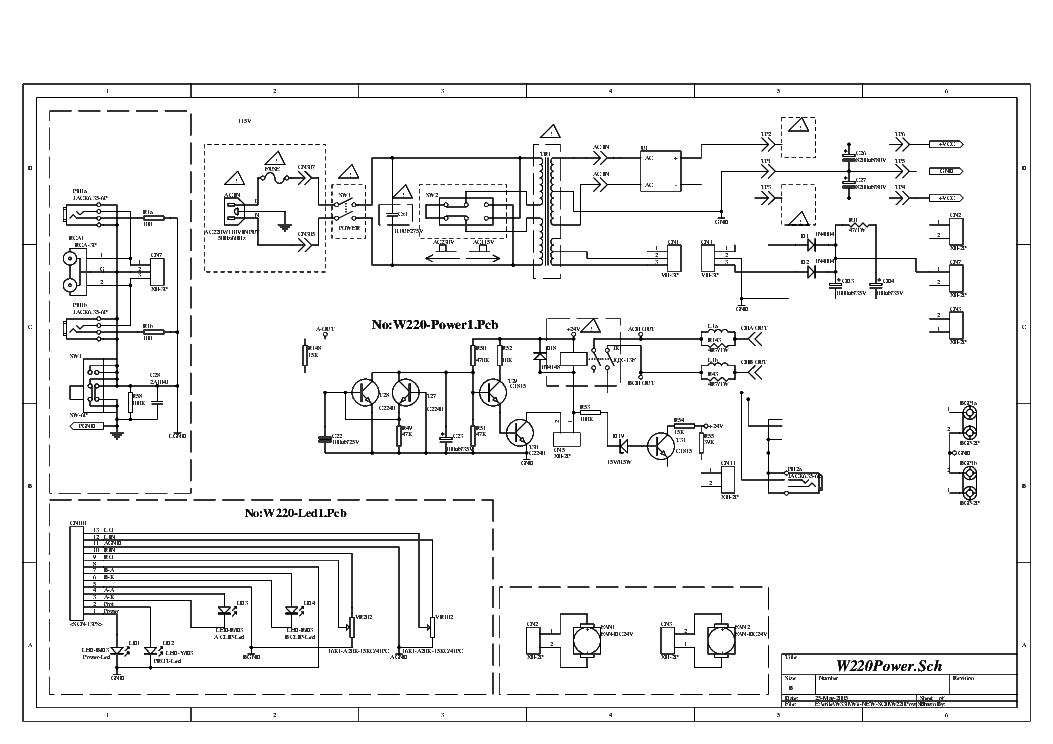 BIEMA W220 SCH Service Manual download, schematics, eeprom