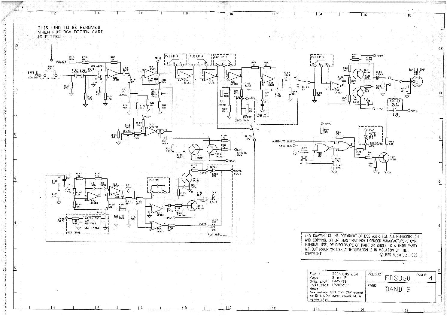 BSS FDS360 SCH Service Manual download, schematics, eeprom