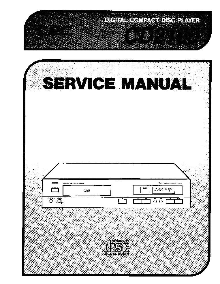 Cec Cd2100 Cd