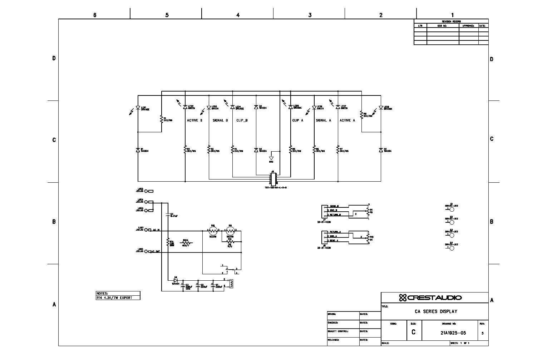 crest audio ca12 service manual