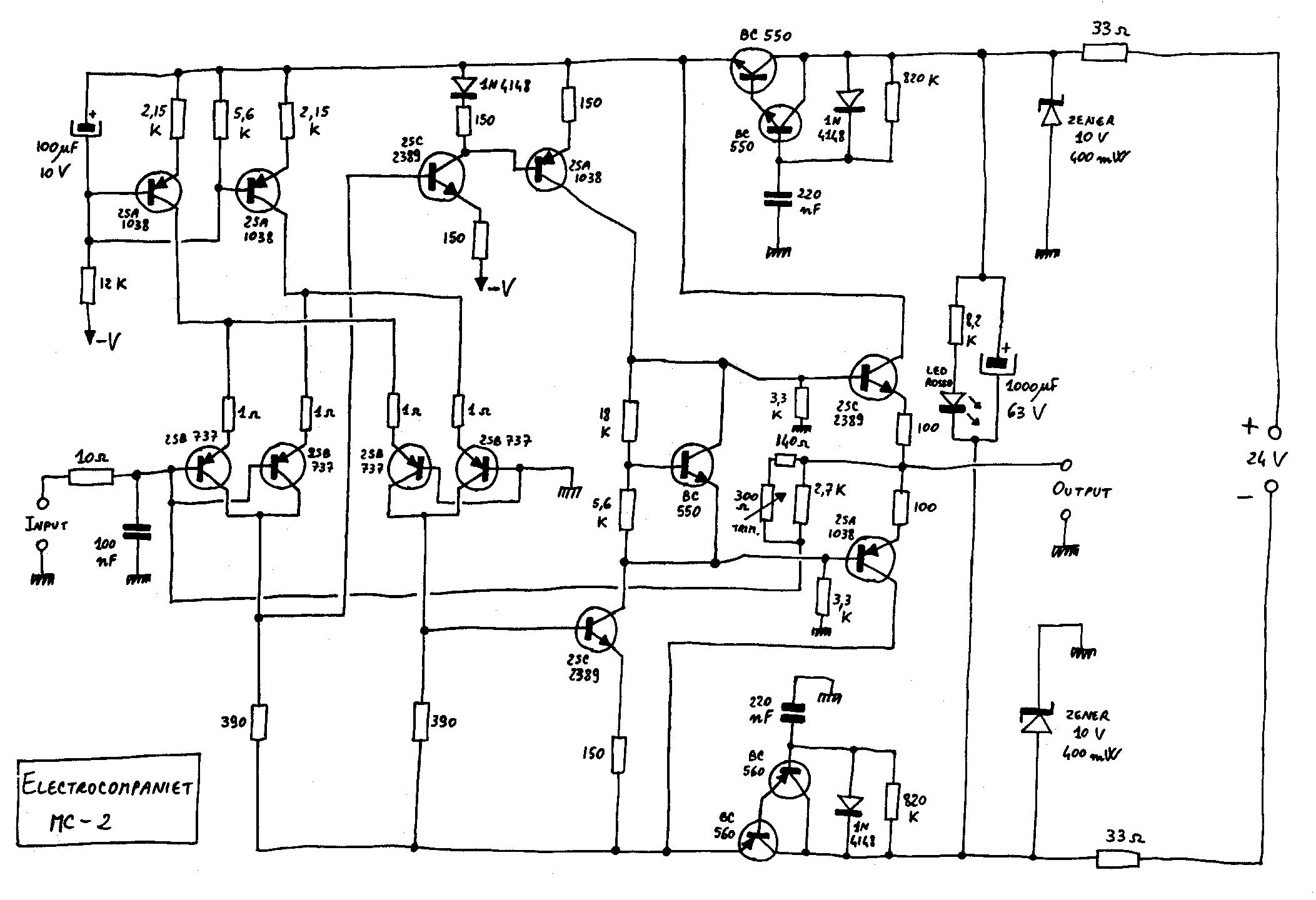 Electrocompaniet Pre Pre Phono Mc 2 Service Manual