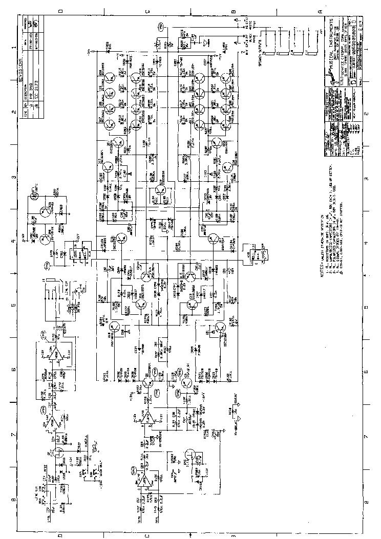 fender bassman 250 fba schematic rev