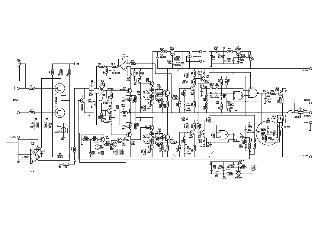 Gamut D200 Sch Service Manual Download  Schematics  Eeprom