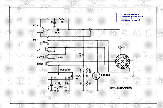icom hm 12 14 sch service manual schematics eeprom repair info for electronics experts