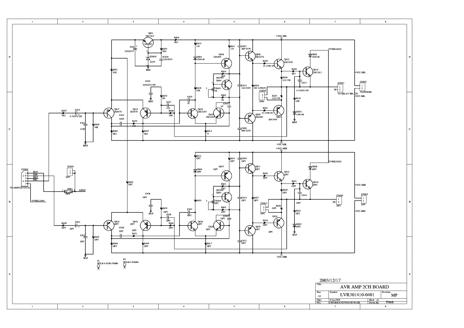 Jamo classic 6 sch assembly service manual download, schematics.