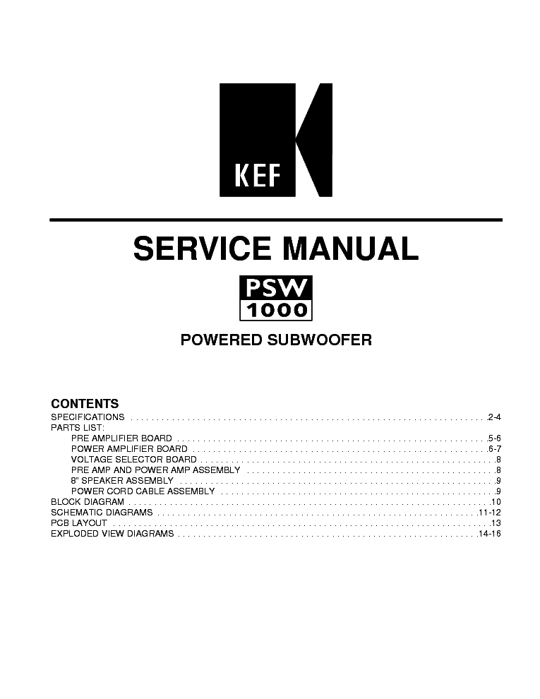 kef psw1000 subwoofer service manual download schematics eeprom rh elektrotanya com