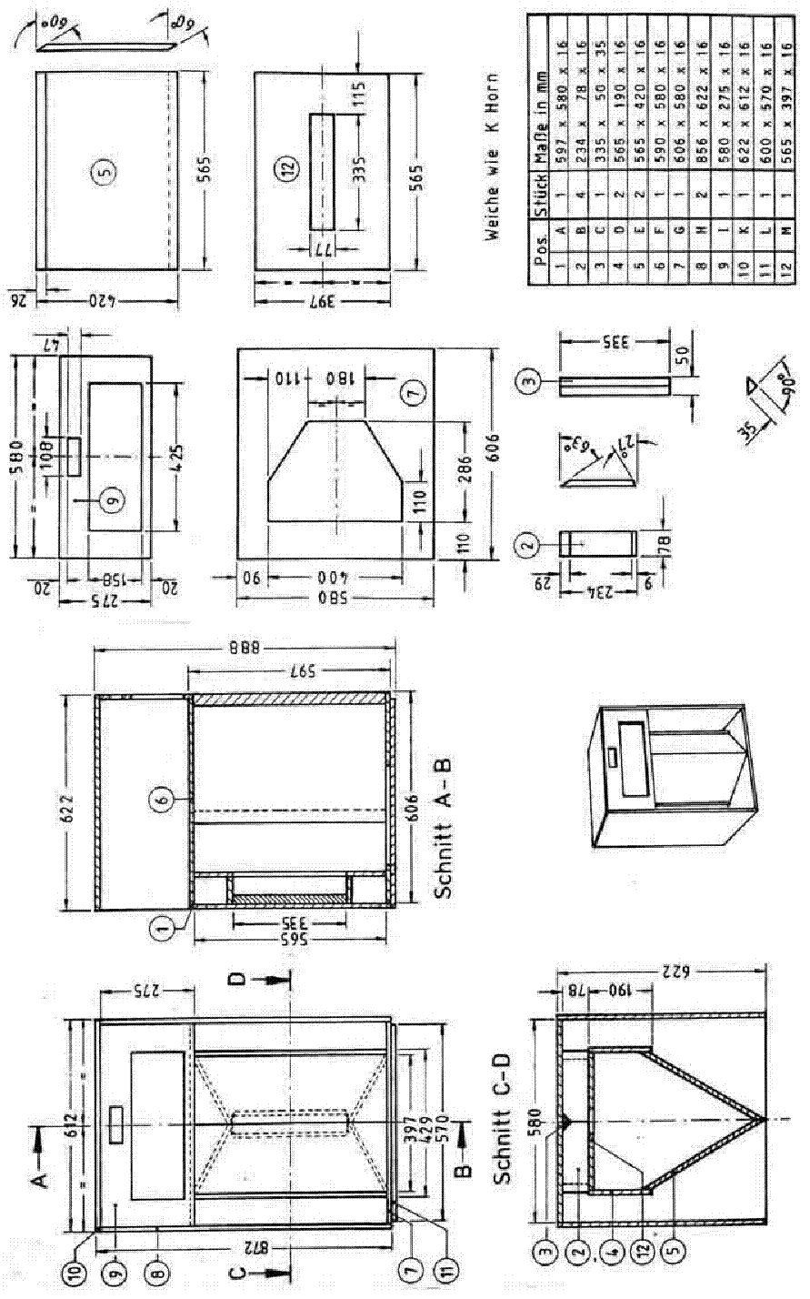klipsch la scala speaker system sch service manual download  schematics  eeprom  repair info for