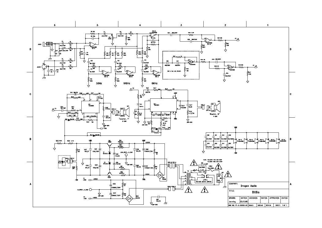 m audio_studiophile_bx8a_sch.pdf_1 m audio schematic diagram the wiring diagram readingrat net GMC Factory Stereo Wiring Diagrams at crackthecode.co