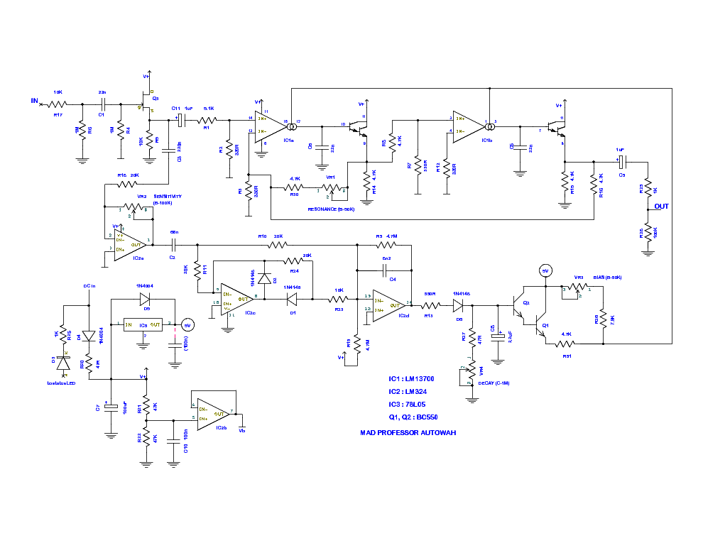 mad professor snowwhite autowah guitar effects schematic service manual download schematics. Black Bedroom Furniture Sets. Home Design Ideas