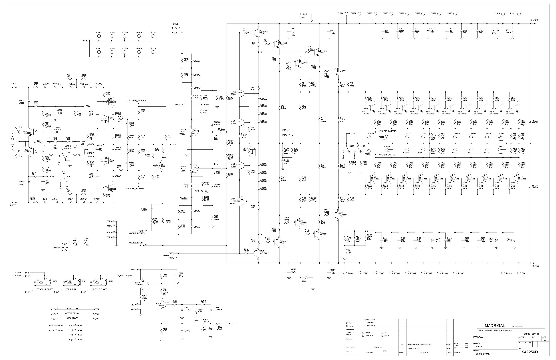 MARK-LEVINSON ML-2 Service Manual download, schematics