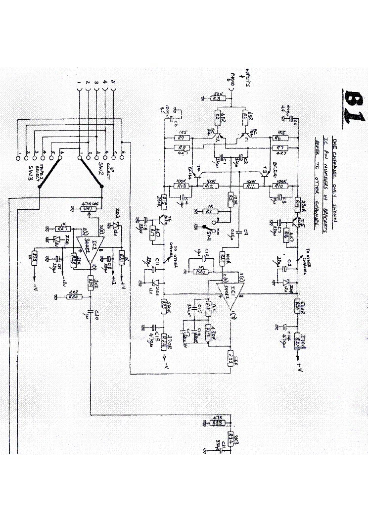 MUSICAL FIDELITY B1 Service Manual download, schematics