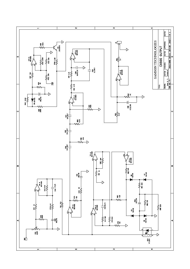 ex500 service manualwiring diagram rh rs27 lucia umami de 169 array samson audio ex 500 subwoofer sch service manual download rh elektrotanya com