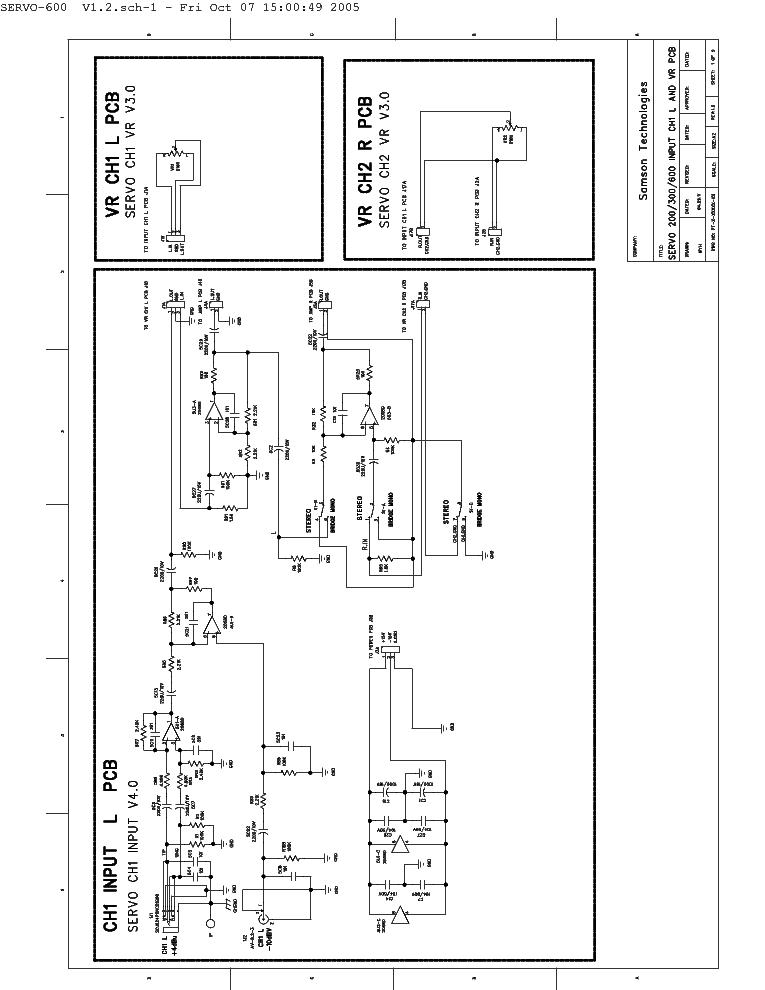 samson servo600 power amplifier schematics service manual download rh elektrotanya com transistor power amplifier schematics power amplifier schematics pdf