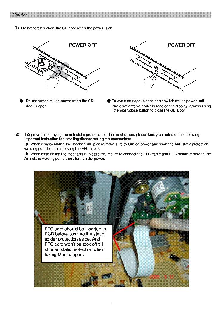STANTON C 501 SM Service Manual download, schematics, eeprom, repair