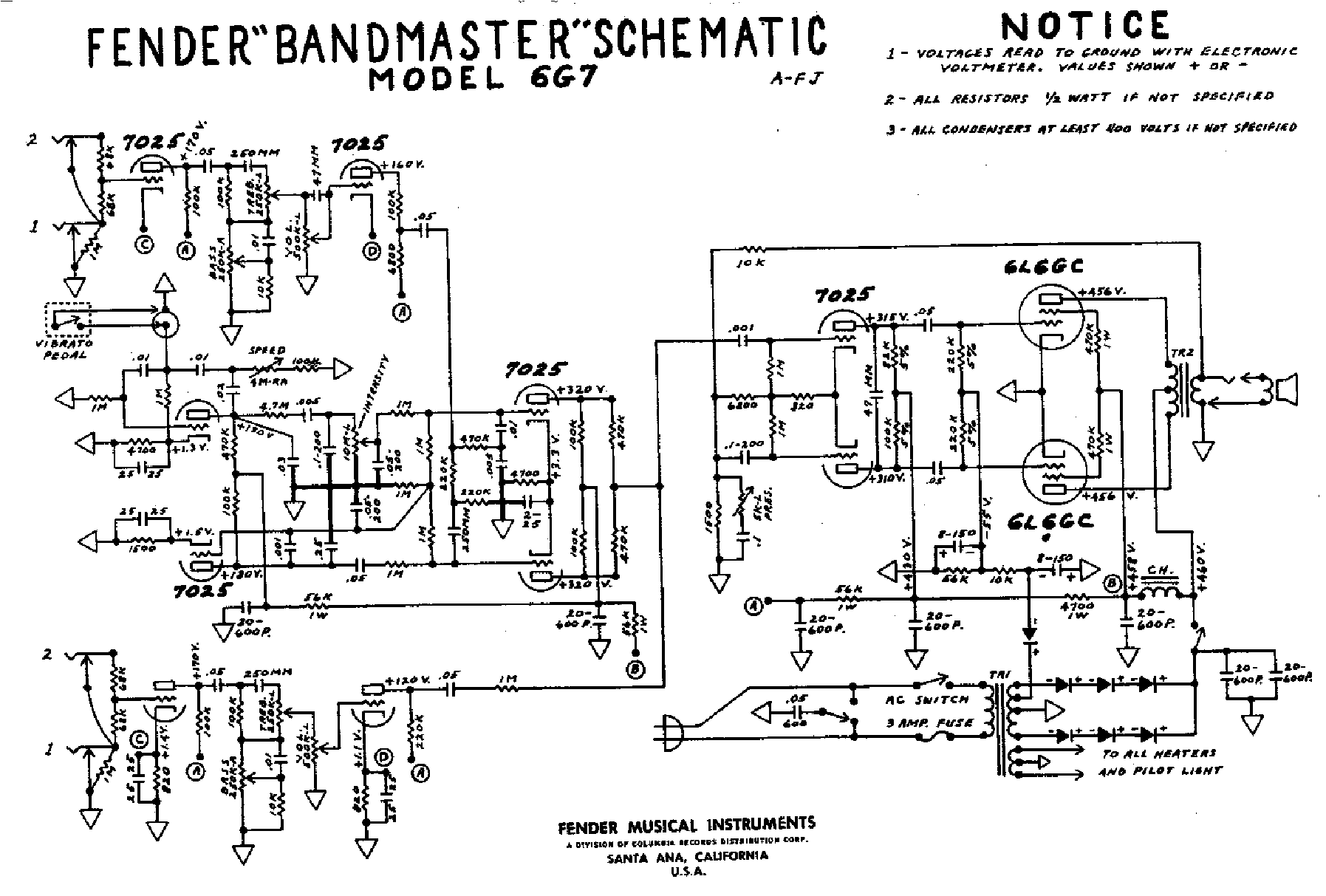 FENDER CHAMP 25 SE SCH Service Manual download, schematics, eeprom on