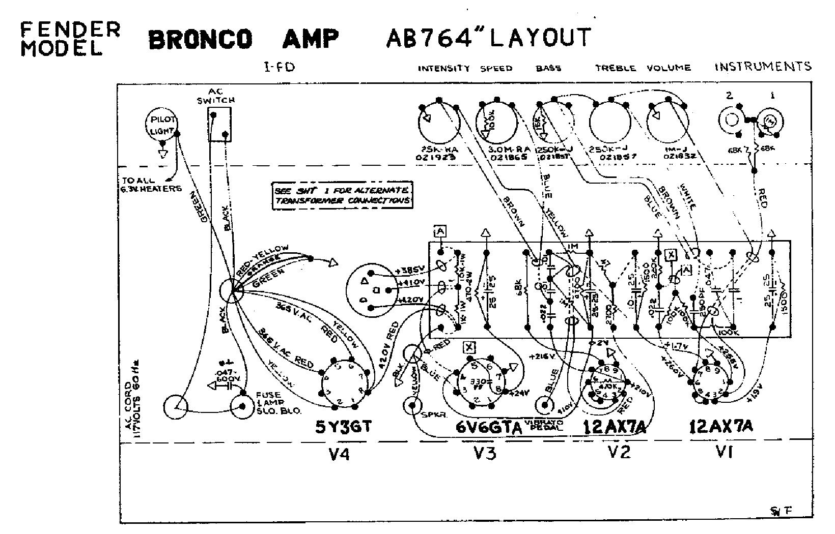FENDER CHAMP-12 SCH Service Manual download, schematics ... on