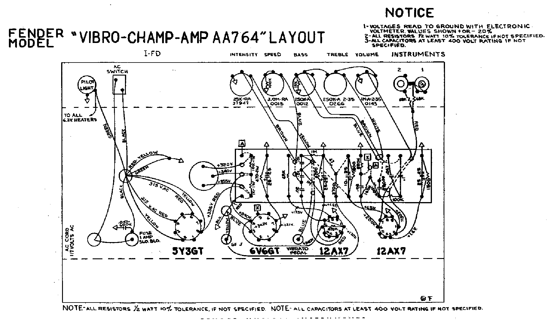 fender champion 100 service manual