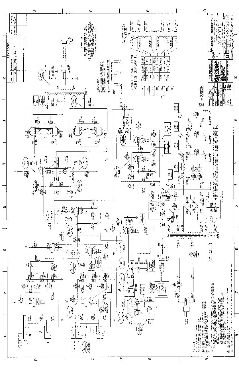 Telecaster Custom Schematic Wire Center 1970 Wiring Fender Vibrasonic Sch Service Manual Download Schematics Rh Elektrotanya Com