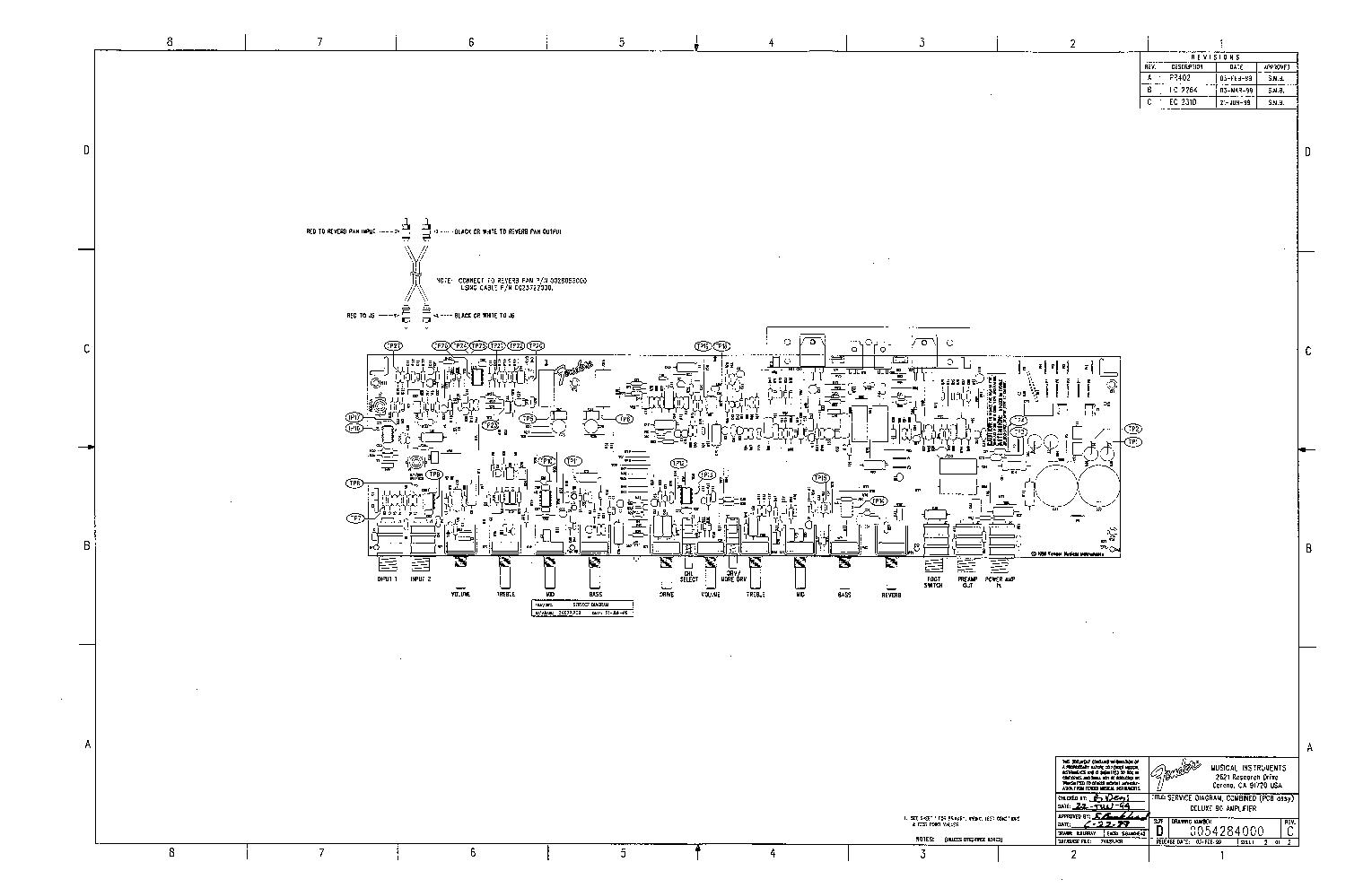 FENDER DELUXE-90 SCH Service Manual download, schematics ... on