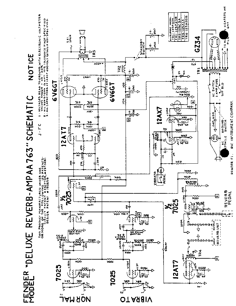 can fender amp schematic  can  get free image about wiring
