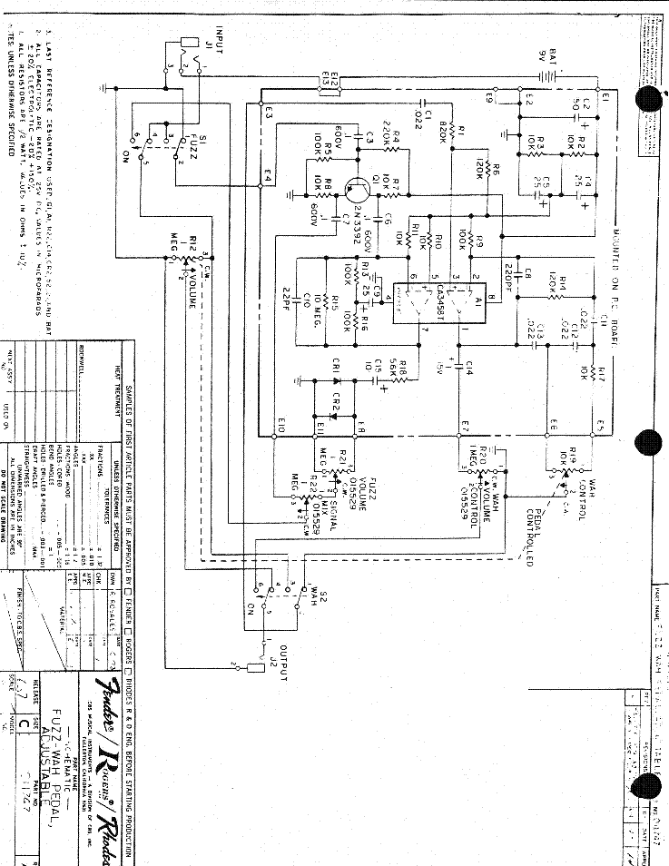 How does a pedal actually work lets get technical furthermore Mxr Phase 45 Schematic further D2hhdC1pcy1zY2hlbWF0aWMtYXNzZW1ibHktZHJhd2luZw further CmVzZXR0YWJsZS1wdGMtc2NoZW1hdGljLXN5bWJvbA besides Noisy Cricket Schematic. on mxr distortion schematic