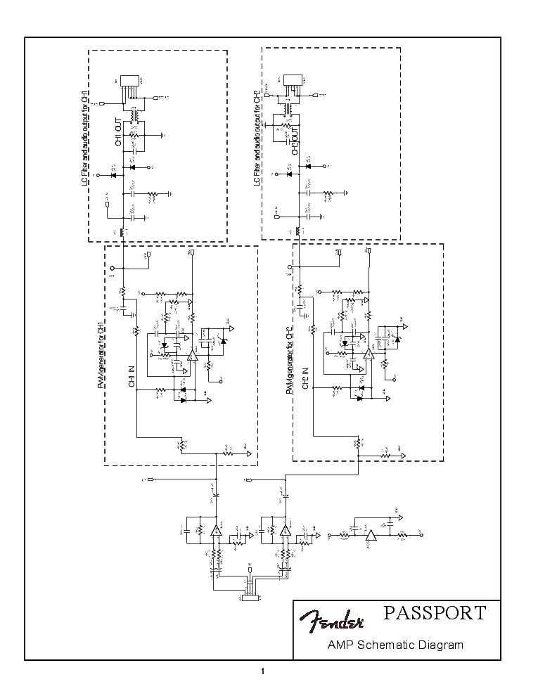 E Passport Circuit Diagram