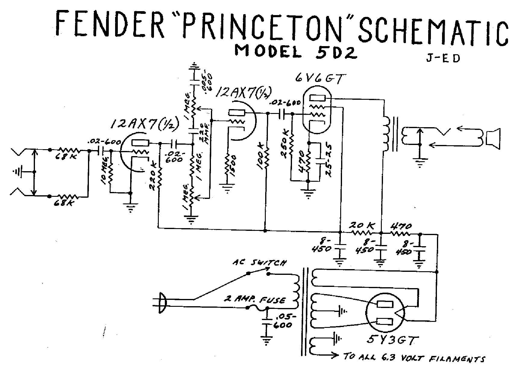 Fender Fuzzwahpedal Service Manual Free Download Schematics Eeprom on