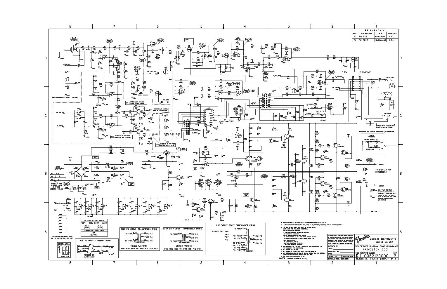 fender princeton 650 schematic schematic fender hot rod Wiring Diagram for Fender Deluxe Precision Bass Fender Stratocaster Wiring Harness Diagram