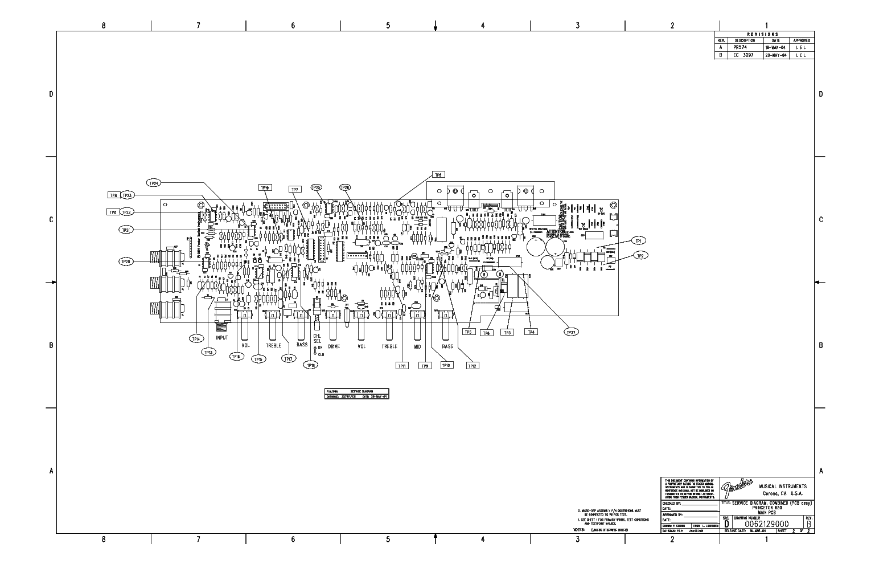 FENDER PRINCETON 650 GUITAR AMPLIFIER SCH Service Manual ... on technical drawing, functional flow block diagram, block diagram, tube map, piping and instrumentation diagram, one-line diagram, circuit diagram,