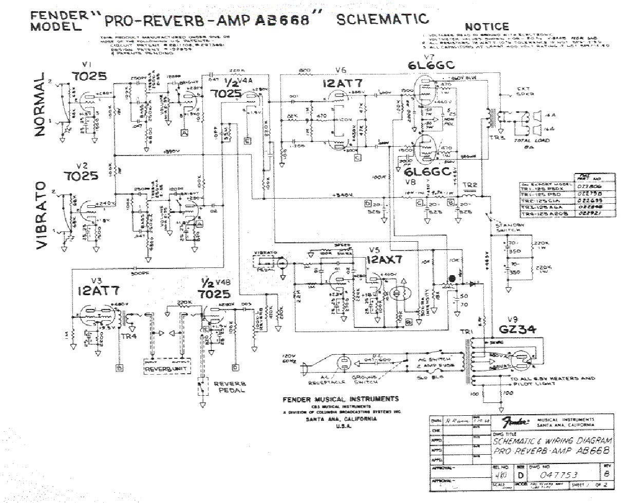 FENDER PRO-REVERB-AB668 Service Manual download, schematics ... on fender vibroverb schematic, fender musicmaster schematic, fender vibrolux schematic, fender frontman 25r schematic, fender blues deluxe schematic, fender amp manuals, fender champ schematic explained, fender harvard schematic, fender concert schematic, fender twin schematic, fender twin reverb tube layout, fender princeton schematic, fender bantam bass schematic, fender hot rod deluxe schematic, fender vibro champ schematic, fender excelsior schematic, fender champion 600 schematic, fender amp schematic, fender reverb amp,