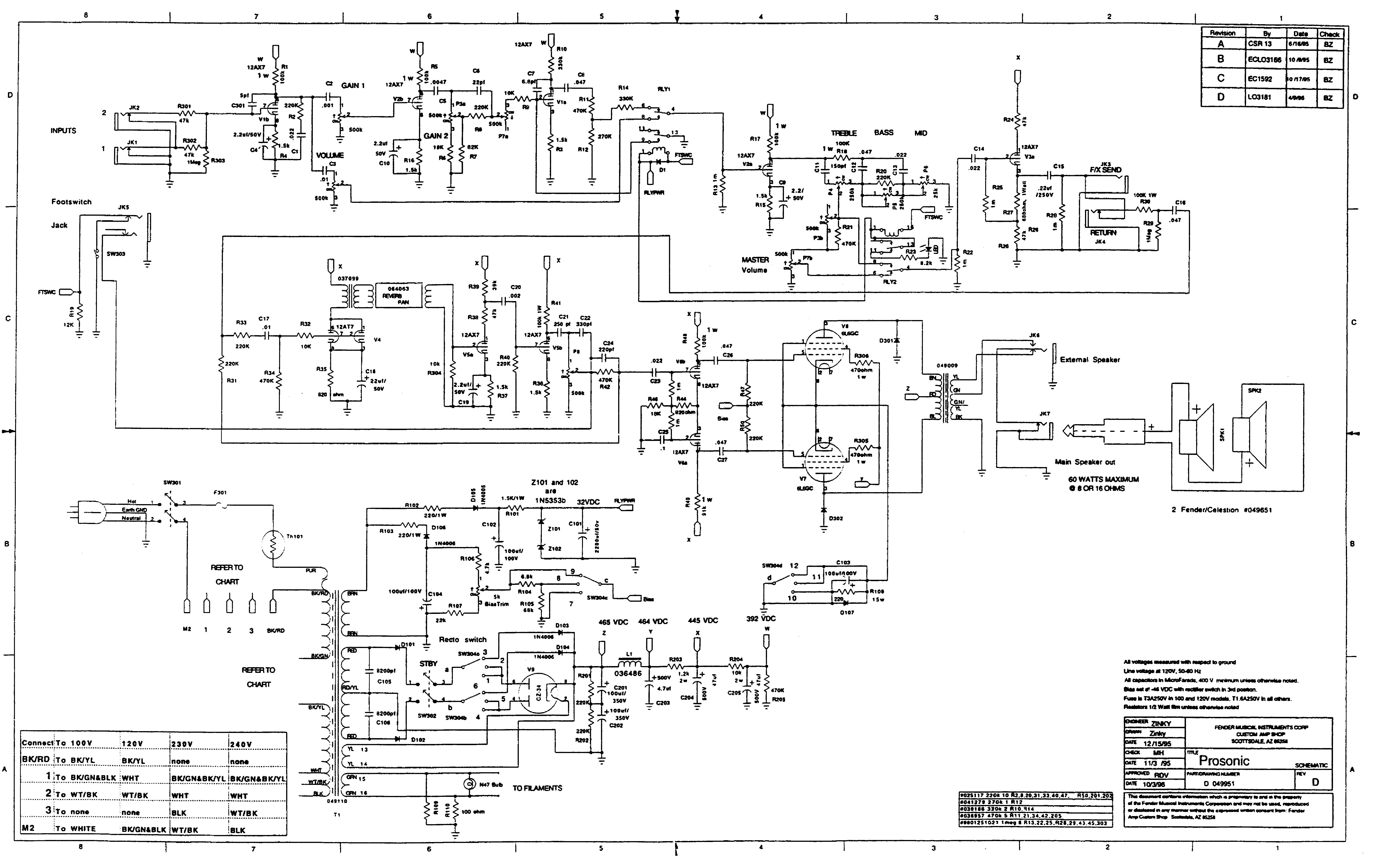 FENDER PROSONIC REV.D SCH Service Manual download, schematics ... on fender vibrolux, peavey classic 50 schematic, fender twin amp, deluxe reverb layout schematic, fender deluxe reverb, fender amp schematics, peavey valveking schematic, fender prosonic tubes, fender prosonic head, fender bandmaster tubes, fender tone master, marshall 1959 schematic, marshall bluesbreaker schematic,